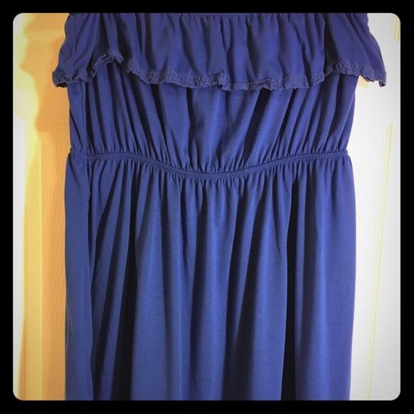 a4a69429afa31 Faded Glory Dresses   Strapless Sun Dress   Poshmark